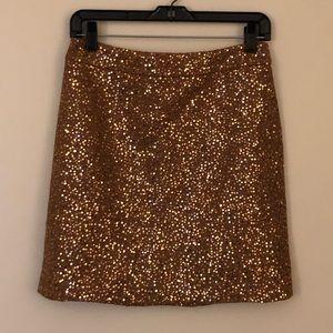 🥂NWT🥂Ann Taylor LOFT Sequins Skirt